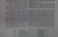 Thư Ngỏ Ấn Tống Kinh Sách: Chùa Đức Sơn ( Ninh Hòa - Khánh Hòa)